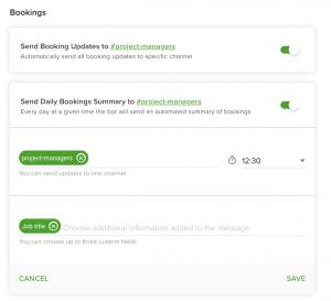 set up the Slack integration