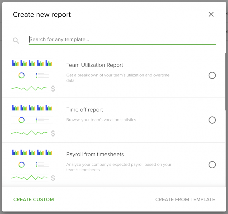 Teamdeck project management reports